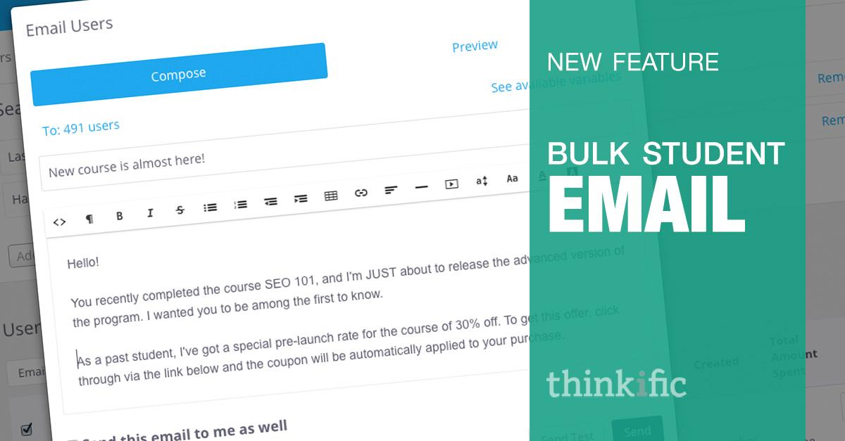bulk student email