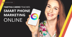 Tabitha Carro teaches smart phone marketing | Thinkific success story
