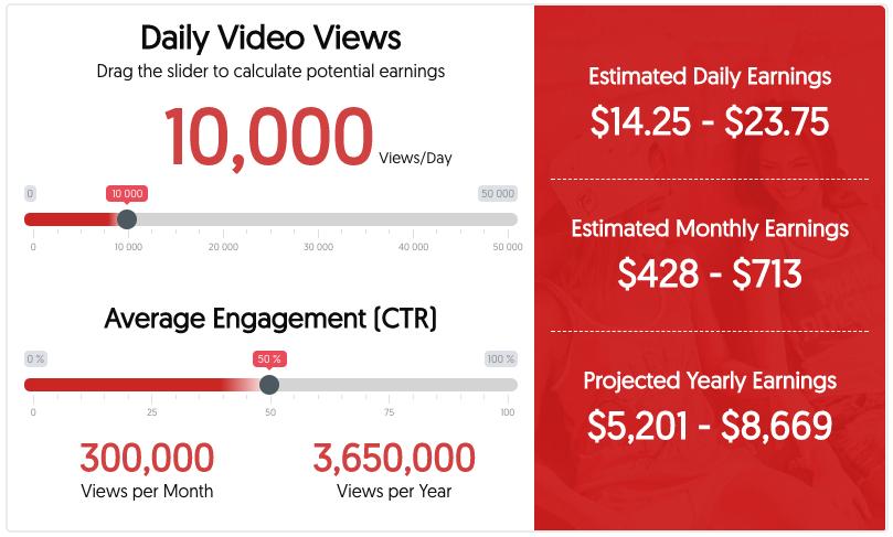 YouTube Ad Revenue Calculator