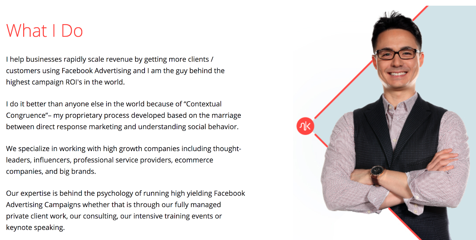 Personal Brand Website Value Proposition