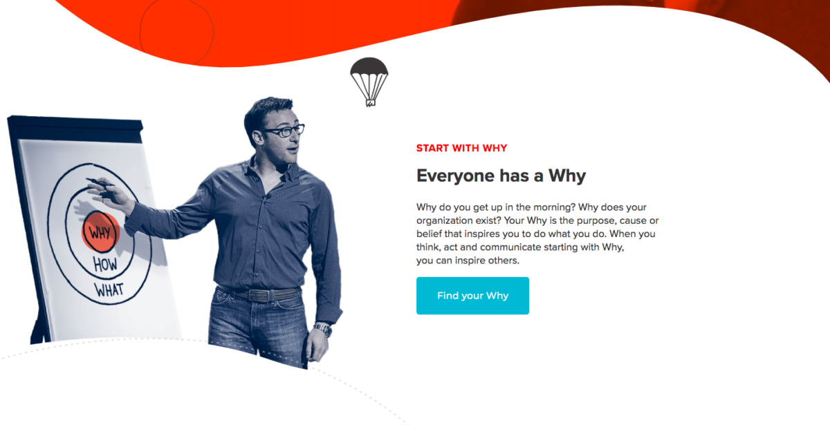 Simon Sinek online course| Create and sell online courses | Thinkific online course platform