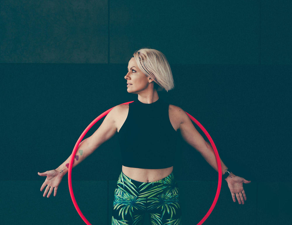 Deanne Love teaches hoop dancing online | Create and sell online courses | Thinkific online course platform