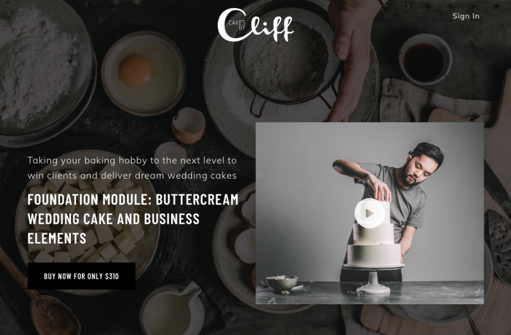 Influencer Marketing Cakes by Cliff