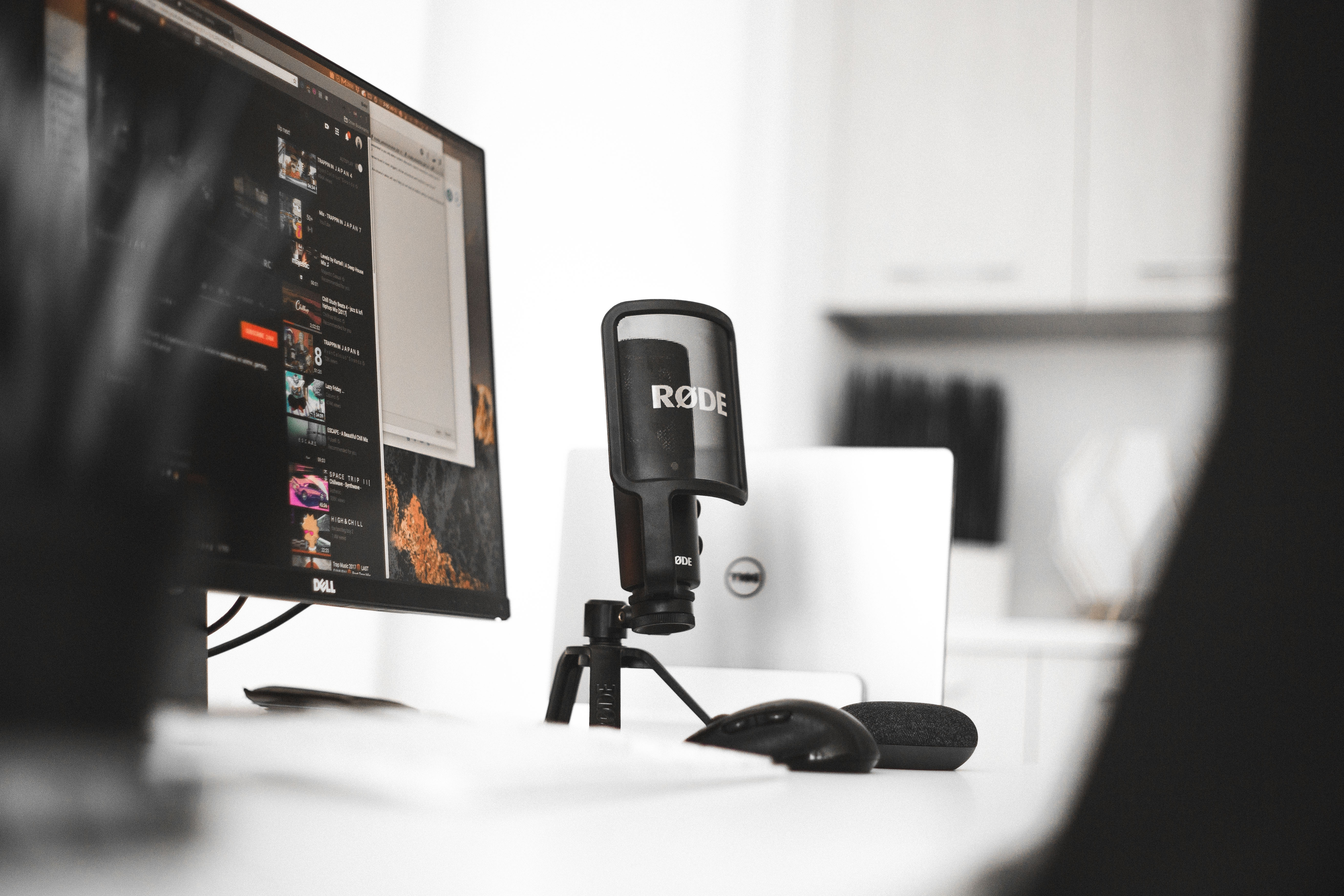 Starting a podcast online course