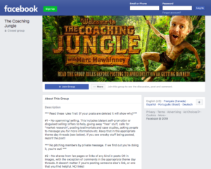 The Coaching Jungle –Marc Mawhinney –Coach to Course