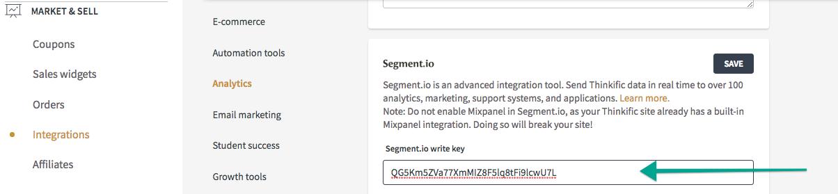 segment-thinkific-integration