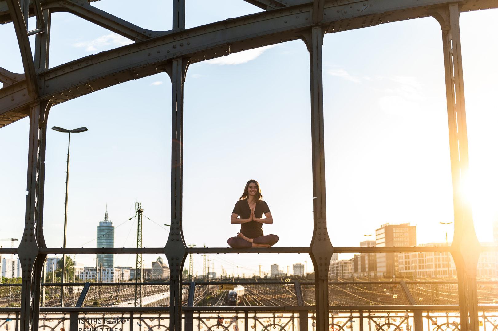 Lizzie Lasater Yoga Pose