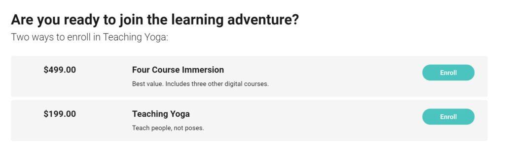 Lasater Yoga Teacher Training