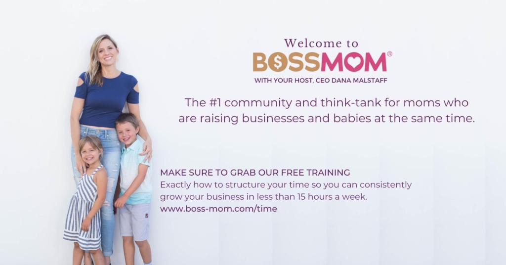 Bossmom Facebook Community Cover Photo Example