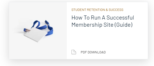 Guide to creating a membership site
