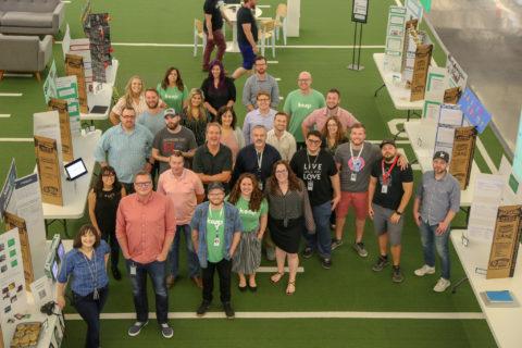 Image: Keap team at event